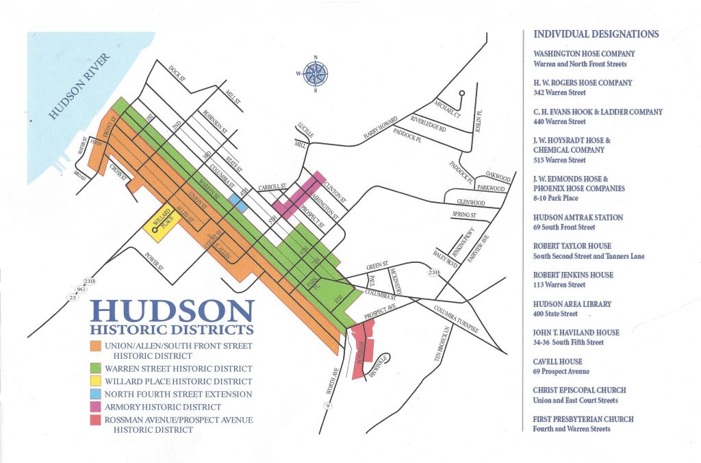Hudson Historic Districts
